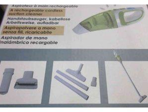 Aspirador de mano inalámbrico Recargable 12v-220v
