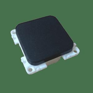 Interruptor simple 12/230V. Negro