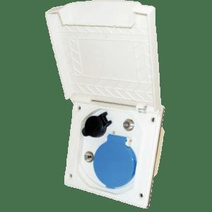 Caja empotrable ESB-3 con tapa