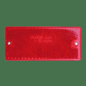 Reflector rectangular rojo Jokon